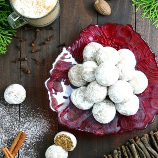 These vegan Pfeffernüsse Cookies are a soft, dense, and spicy German treat. Perfect with a big mug of coffee.