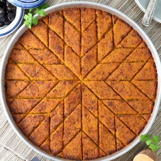 Kibbeh is a savory Middle Eastern mainstay. This vegan Sweet Potato Kibbeh follows a classic method and features onions, cumin, paprika, and cilantro. Gluten-free option, too.