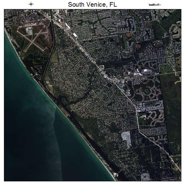 Venice Florida Map.South Venice Florida Map