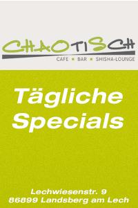 Chaotisch Cafe-Bar-Shisha Lounge