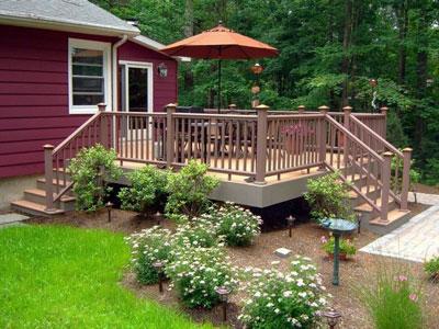 how to design deck steps