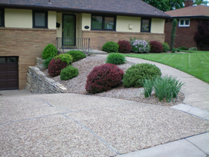 Landscaping A Hill