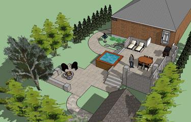 3d landscape design pictures