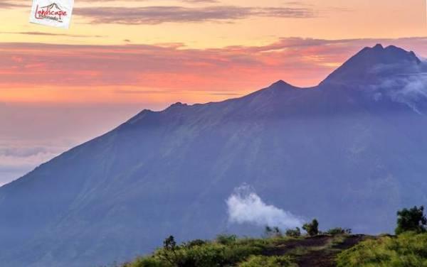 pagi gunung merapi