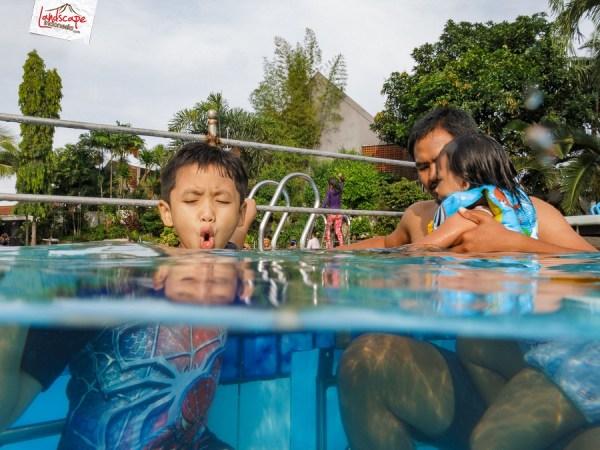 test kamera  g15 + underwater case wp-dc48