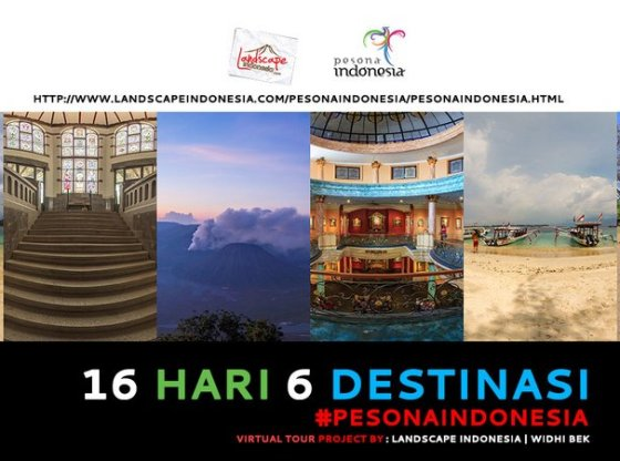 virtualtour pesonaindonesia2 - 16 Hari 6 Destinasi - Virtual Tour