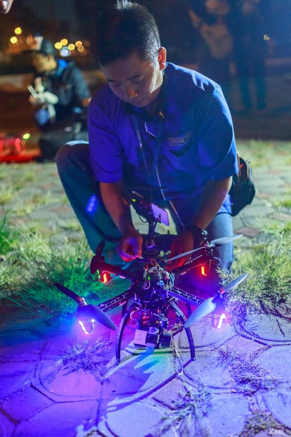 terbang Solo Drone Fly Mangkunegaran