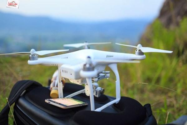 gunung gamping karanganyar - drone
