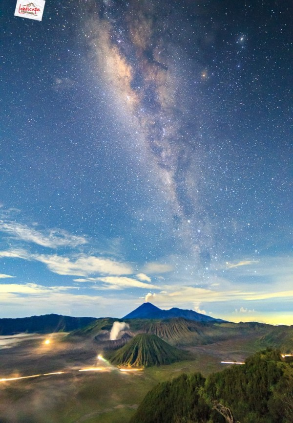 milky way bromo