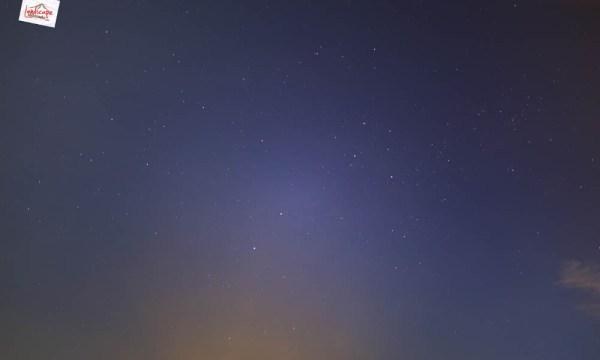 sunset di Plaosan - crux dan centauri