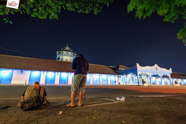 milky way di keraton Surakarta - para penunggu bintang