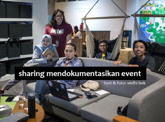 sharing kibar 0a - Sharing Dokumentasi Event di Kibar