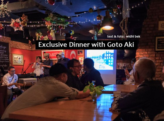 Exclusive Dinner with Goto Aki