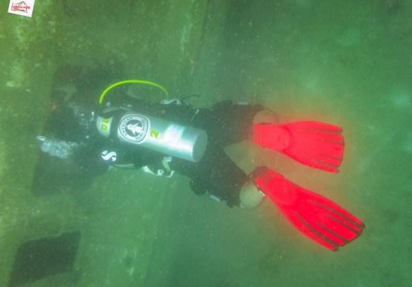 wreck dive kapal ahok