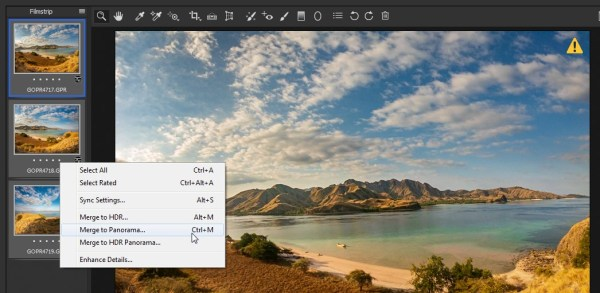Screenshot 319 - Gopro Hero 7 black untuk memotret panorama