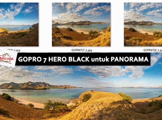 gopro panorama - Gopro Hero 7 black untuk memotret panorama
