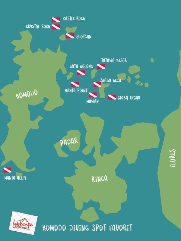 komodo diving spot - 10 Diving Spot di Komodo pilihan WidhiBek