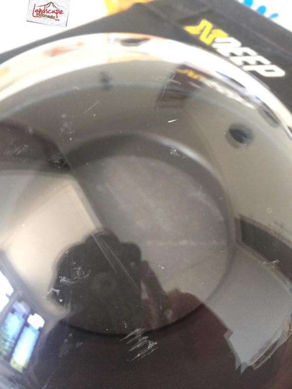 merawat dome 03 - Menghilangkan Goresan pada Dome