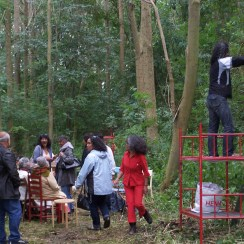 Curator at very specific locations: Ambonezenbosje 2011