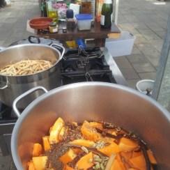 Koken op locatie