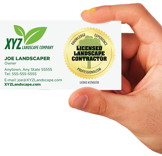 Landscape Design License