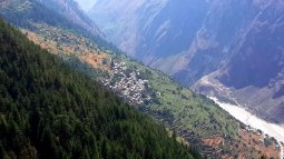 Landscape of Nanda Devi Biosphere Reserve
