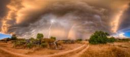 Nature's thunder