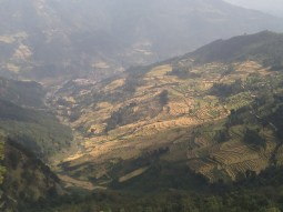 A Nepalese farming landscape