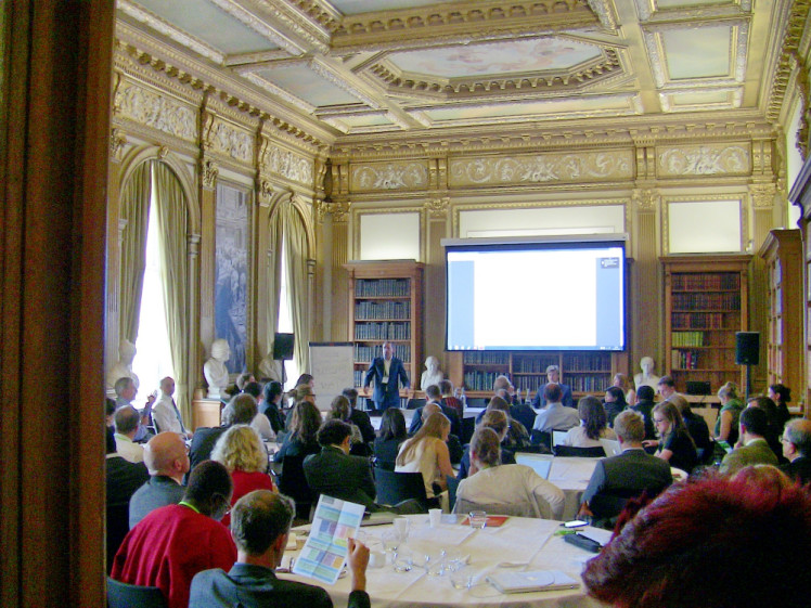 Global Landscapes Forum: The Investment Case was held in London on June 10. Photo: Thomas Hubert/CIFOR