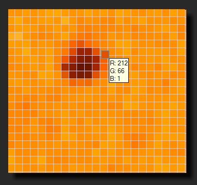 SOHO Continuum zoomed to 1600x