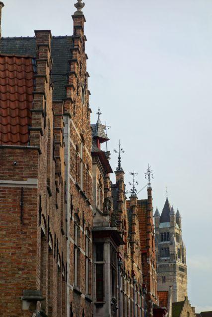 Belgium architecture is distinctly unique in Flanders