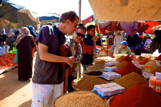 Morocco market Aourir