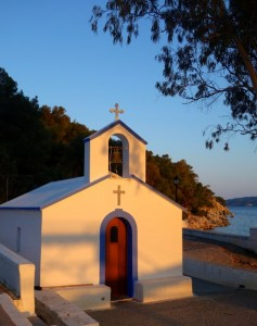 Wee church on the beach