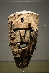 Mask found in the National Museum of Iceland