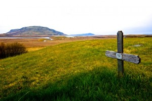 View from Skalholt