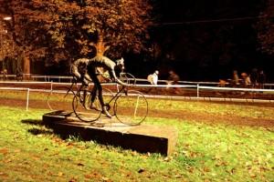 Huge bicycling community in Woerden