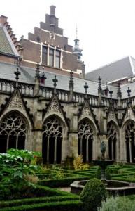 Domkirk garden in Utrecht