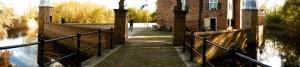 Crossing the drawbridge