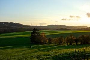 Bucolic Wallonia above Dinant