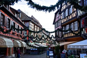 Preparing for the Christmas Markets in Obernai