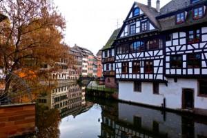 Petit France in Strasbourg