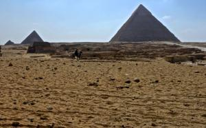 Excavated village in Giza