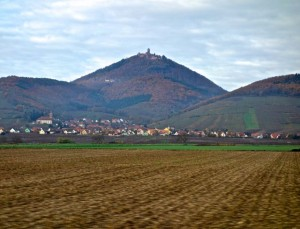Strategic position in the Vosges Range above the Alsace