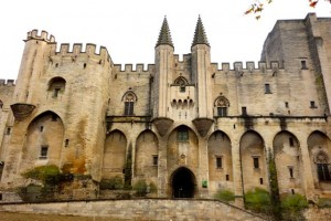 Exterior of the 13th Century Papal Palace