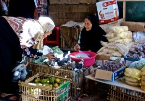 Bartering in the market