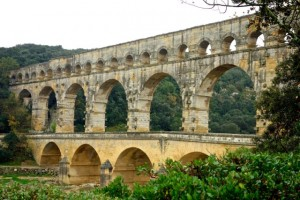 Pont du Gard from the North Bank