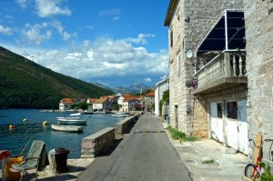 Our path around to Kotor