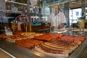 Typical Viennese sausages for lunch!