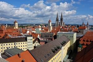 UNESCO world heritage city Regensburg