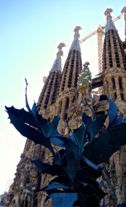 Gaudi's ever-under-construction Familia Sagrada
